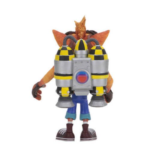 "Crash Bandicoot Deluxe Crash with Jet Pack 7"" Scale Figure"